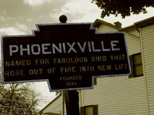 Phoenixville marker