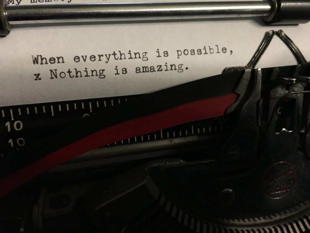 When Everything is Possible